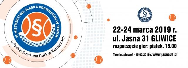 VII mistrzostwa prawników w tenisie 2019 na Jasnej31 w Gliwicach